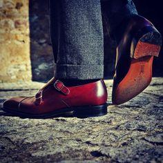 #yanko #monks & @albertborowiecki #fashionblogger #fashionblog #fashion #style #styleformen #yankolover #doublemonk #shoestagram #shoes #shoesformen #classicshoes #menstyle #menswear #schuhe #buty #patinepl #patineshoes #shoeporn #mnswr