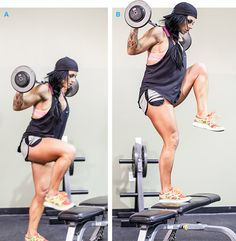 Bodybuilding.com - Rig For Pain: Ashley Horner's Full-Body Circuit Workout - bad ass hiit training workout