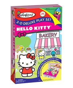 Take a look at this Hello Kitty 3-D Deluxe Play Set by University Games on #zulily today!