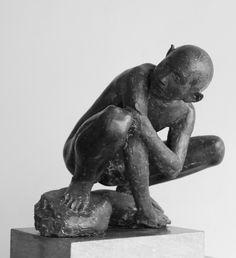 Giacomo Manzù (Giacomo Manzoni) - David (1938.)
