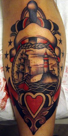 lighthouses and ships tattoos - Google Search