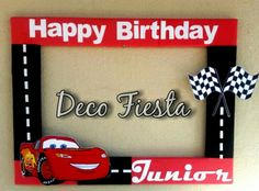 Cars Trucks Birthday Party, Cars Birthday Invitations, Car Themed Parties, Birthday Party Snacks, 2nd Birthday, Disney Party Decorations, Disney Cars Party, Disney Cars Birthday, Birthday Party Decorations