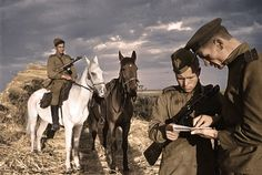 Soviet soldiers - combat mission WW2 | Commander of Cavalry … | Flickr - Photo Sharing!