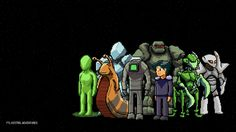 These are the designs of all of the races for my animated series FTL Kestrel Adventures. It's based on the game FTL: Faster Than Light! FTL: Faster Than Light All Races Awesome Art, Cool Art, All Races, Faster Than Light, Space Artwork, Space Games, Weird Science, Sci Fi Characters, Minecraft Ideas