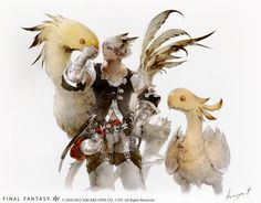 Kawaiian Punch!: Final Fantasy XIV's new concept art and trailer ...