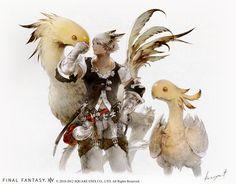 Kawaiian Punch!: Final Fantasy XIV's new concept art and trailer ...
