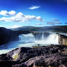 One of many beautiful falls in Iceland