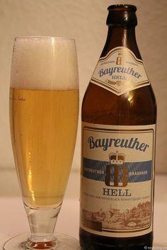 Bayreuther hell vom Bayreuther Brauhaus    www.bayreuther-bier.de