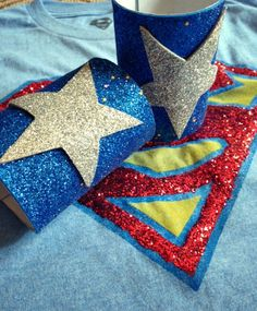 Superhero costume - use crafty glitter foam sheets. Up Costumes, Super Hero Costumes, Diy Halloween Costumes, Police Costumes, Costume Ideas, Diy Superhero Costume, Superhero Party, Halloween 2015, Holidays Halloween
