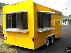 2013 New 8 5 x 18 Concession Trailer Loaded with Equipment | eBay