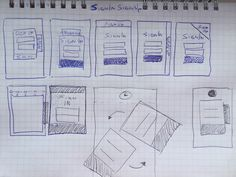 A Practical Guide To Convert Your Sketches To Working Prototypes Web Design Tips, Ui Ux Design, Interview Format, Design Language, User Interface Design, Material Design, Tutorial, Sketches, Bullet Journal