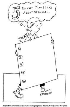 free printable self esteem worksheets worksheets and free printable - Free Printable Kids