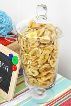 How cute - monkey theme (banana chips)
