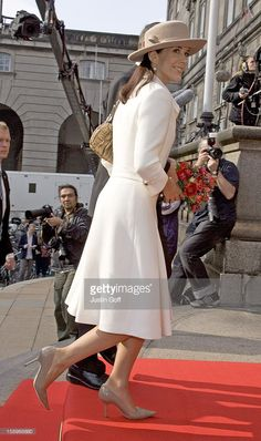 News Photo : Crown Princess Mary Attends The Opening Of The...