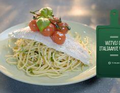 Witvis op Italiaanse wijze