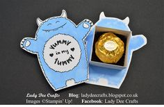 Lady Dee Crafts: Yummy In My Tummy Ferrero Box