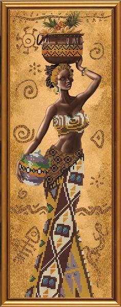 Каталог - Нова Слобода Креативное рукоделие - смешанная техника Dream Illustration, Beautiful African Women, Black Women Art, Black Art, Woman Painting, Silk Painting, African Artwork, African Crafts, Cottage Crafts