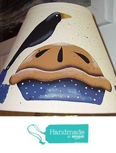 Shoo Fly Crow on a Pie Natural Linen Lamp Shade from Primitive Country Loft House(FREE SHIPPING) http://www.amazon.com/dp/B01E1LRK4C/ref=hnd_sw_r_pi_awdo_rFLcxb1B94ZYT #handmadeatamazon