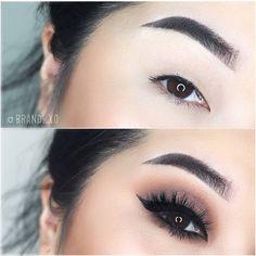 Neutral Smokey Eye Prom makeup www.RadiantFitAndHappy.com ...