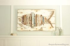 Easy DIY Driftwood Fish