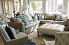 House of Turquoise: Four Chairs Furniture