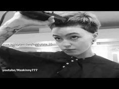 Buzz Cut Women, Hair Cutting Videos, Youtube, Youtubers, Youtube Movies