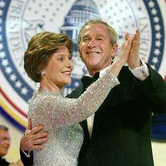 President George & Laura Bush.