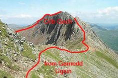 Route information for the Snowdon section of the Welsh Challenge, including a map. Mountains covered are Snowdon, Garnedd Ugain and Crib Goch. Scotland Trip, Scotland Travel, Ben Nevis, Snowdonia, Mountain Climbing, North Wales, Places Of Interest, Get Outside, Welsh
