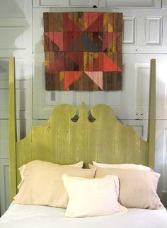Barn Art from reclaimed wood