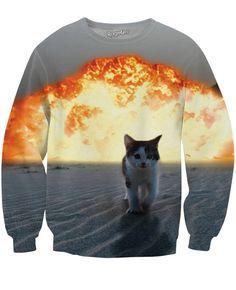Cat Explosion Sweatshirt