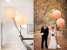 Romantic-wedding-ideas-balloon-decor-peach-black-lace.full