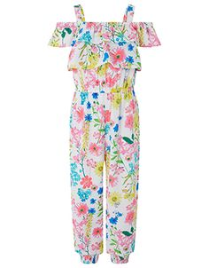 Our Elouise jumpsuit for girls is a sunny-day outfit with instant impact. Cute Girl Shoes, Cute Girl Dresses, Cute Girl Outfits, Kids Outfits, Kids Summer Dresses, Summer Outfits, Girls Fashion Clothes, Girl Fashion, 8 Year Old Girl