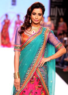 Madhura Naik on Day 4 of India International Jewellery Week 2013. #Bollywood #Fashion