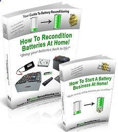 Battery Reconditioning - Ez Battery Reconditioning By Tom Ericson Save Money And NEVER Buy A New Battery Again