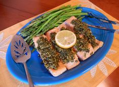 Shelly's Salmon with Honey Dijon Gremolata Topping - Easy, Elegant, Healthy and DELICIOUS Dinner