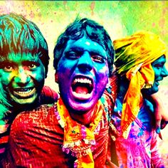 India colour festival-freedom, fun, disorderly, unruly, messy