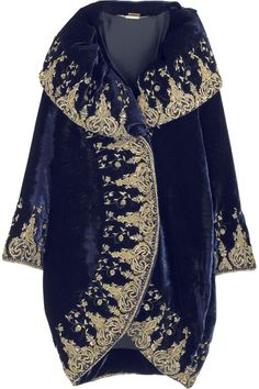 Alexander McQueen Embellished cocoon coat  17,140 CAD Sold out - net-a-porter.com 2013