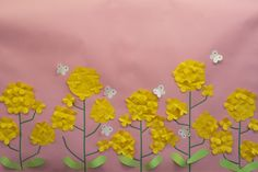 Crafts For Kids, Pastel, Wall Decor, Classroom, Japanese, Spring, Plants, Flowers, Crafts For Children