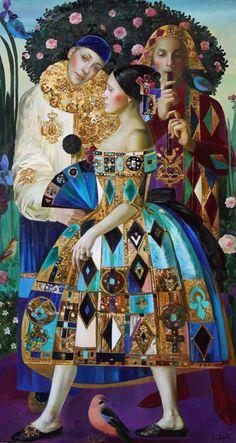 Olga Suvorova ¡qué satisfacción da encontrar una pintora genial!