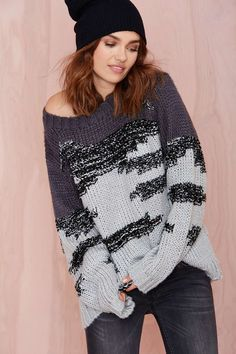 Retrograde Sweater @scrapwedo