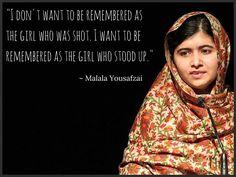 Malala Yousafzai Quotes 12 Powerful And Inspiring Quotes From Malala Yousafzai  I Am Malala .