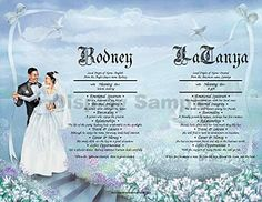 """From This Moment II - Personalized ANY First Name Meaning Keepsake Print 8.5"""" x 11"""" 