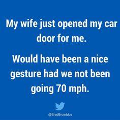 Sounds like something I would do.