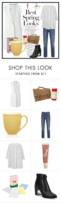 """Look 849: Precise"" by hermioneyouarewelcome ❤ liked on Polyvore featuring Harris Wharf London, Traditional Medicinals, Noritake, Levi's, MANGO, Lano, Kenzo and H&M"