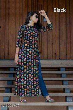 Simple Kurta Designs, Kurti Neck Designs, Kurta Designs Women, Kurti Designs Party Wear, Stylish Blouse Design, Stylish Dress Designs, Dress Indian Style, Indian Fashion Dresses, Long Kurti With Jeans