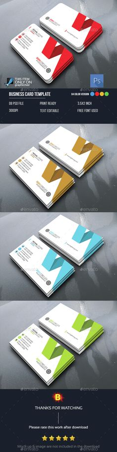 Abstract Business Card Template PSD. Download here: http://graphicriver.net/item/abstract-business-card/14782788?ref=ksioks