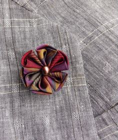 83 best fashion images on pinterest lapel pins lapel flower and lapel pins men lapel pin flower lapel pin kanzashi brooch silk lapel flower custom silk boutonniere dark colors boyfriend gift for men suit mightylinksfo
