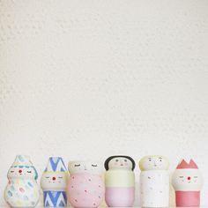Polkaros Flower Pots | UGUiSU Online Store