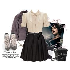 """""""Alice Cullen, Fall"""" by mariiiiie on Polyvore  love this dress so much might have already pinned"""