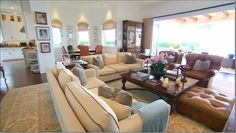 Yolanda Foster's home. I pretty much love everything about this woman!